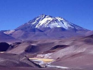 The three children had to ascend the summit of this volcano to die, some 500 years ago. (Photo: Jaime E. Jiménez)