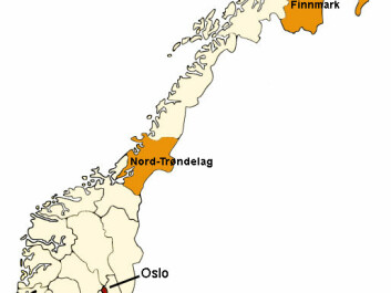 One sleep study was done in Nord-Trøndelag, which is a county south of the polar circle. Other Norwegian sleep studies have been done in the city of Tromsø and in the county for Finnmark, both north of the polar circle.