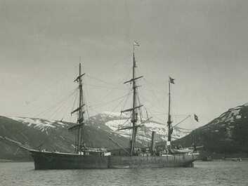 Antarctic, photographed near Tromsø, Norway in 1898. (Photo: Otto Kjellström/Wikimedia Creative Commons)