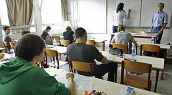 Abandoned teens may be likely school dropouts