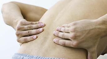 Treating lumbar pain physically and mentally