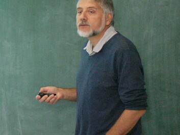 Professor Eystein Jansen. (Photo: Andreas R. Graven)