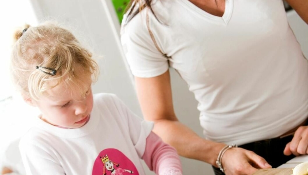 Mum can help prevent overweight (Photo: Colourbox)