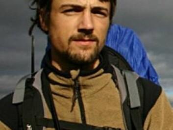 Sam Steyaert. (Photo: The Scandinavian Brown Bear Project)
