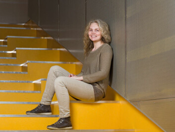Mette Løvgren is writing her PhD thesis on Norwegian day-care centres. (Photo: John Hughes)