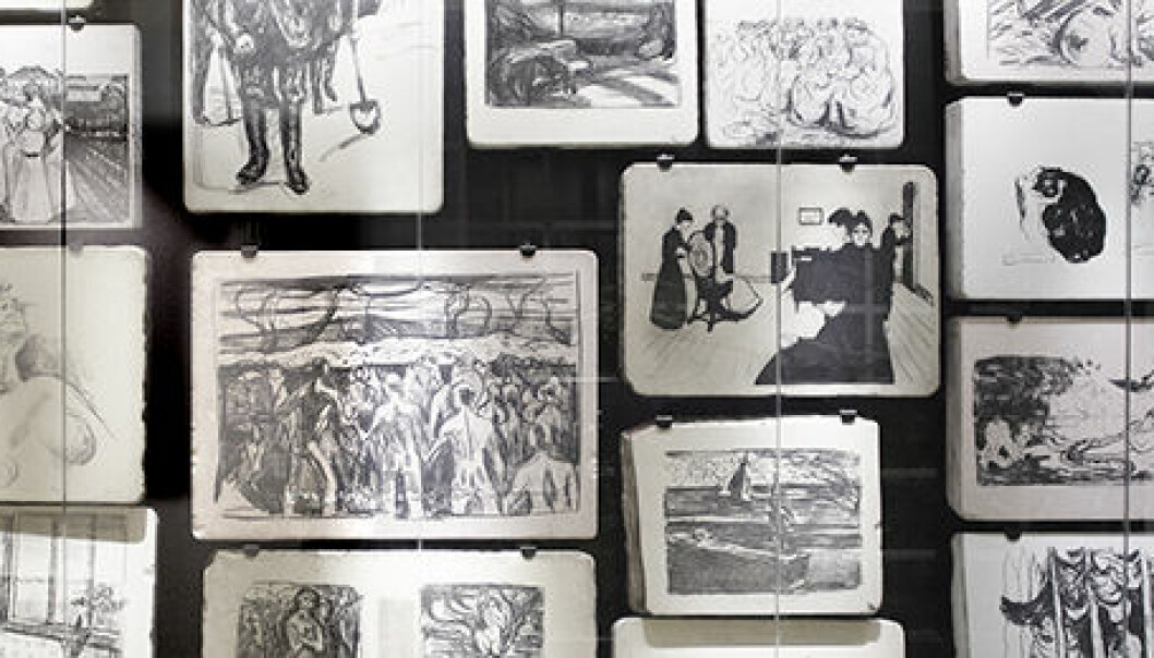 """""""Munch and Modernity"""" is a collaborative project between the University of Oslo, the Munch Museum and the National Museum of Art, Architecture and Design. (Photo: Annica Thomsson)"""