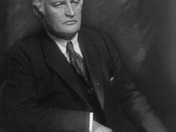 Edvard Munch, 1921. (Photo: Anders Beer Wilse, Norwegian Museum of Cultural History)