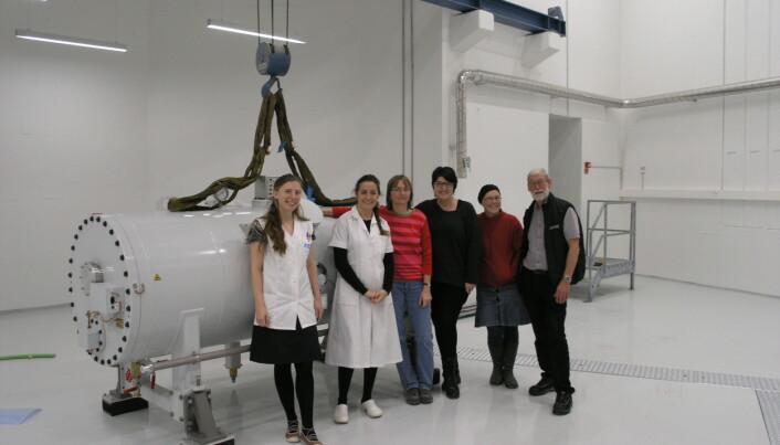 New atom accelerator at Aarhus University