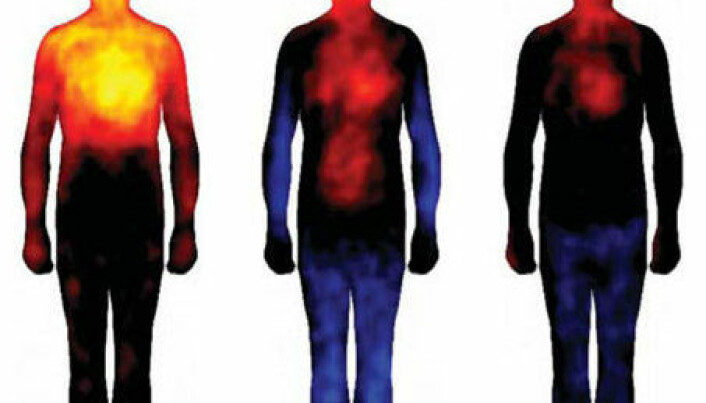 Emotions mapped out in the body