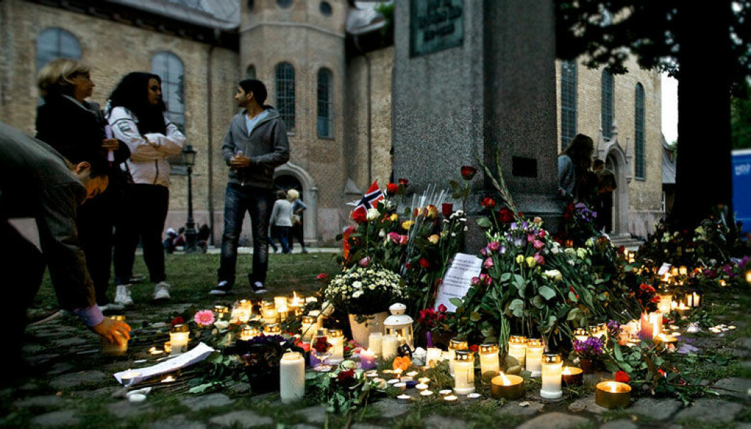 Prior to the Norwegian terrorist's attack on 22 July, 2011, major media outlets ran an average of ten articles or reports related to immigration per day. In the following months the average dropped to seven a day. (Photo: nrkbeta/Flickr)