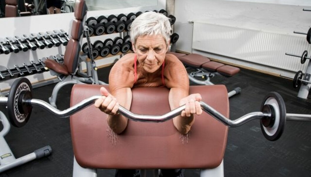 Pumping iron lowers the risk of developing type 2 diabetes. (Photo: Colourbox)