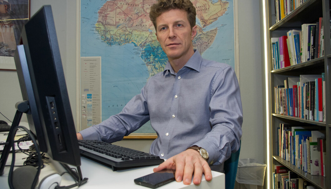 John Karlsrud conducts research on peacekeeping operations for the Norwegian Institute of Foreign Affairs. (Photo: Georg Mathisen)