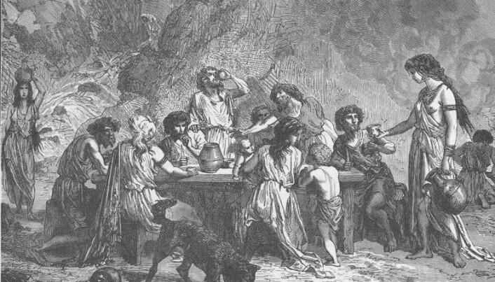 Nordic people drank wine 3,000 years ago