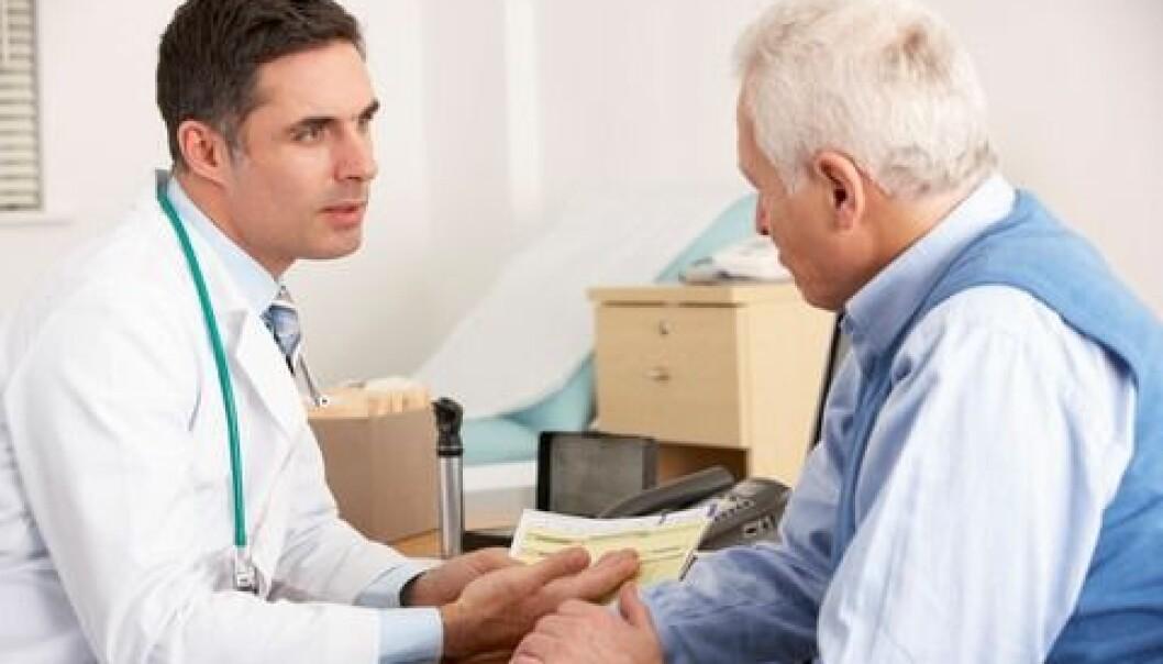Serious health issues demand good communication skills. (Photo: colourbox.com)