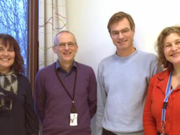 Kristin Hagen, Pål Gulbrandsen, Jan Svennevig and Janne Bondi Johannessen.(Photo: Ingrid Spilde)