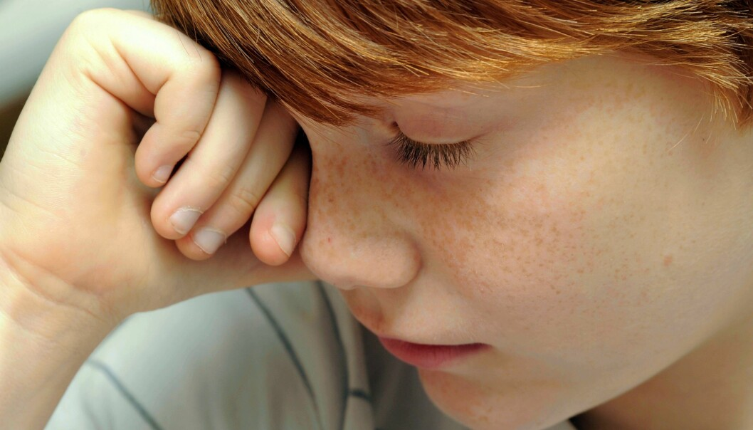 Can high stress levels amongst children trigger autoimmunity processes? (Photo: Colourbox)