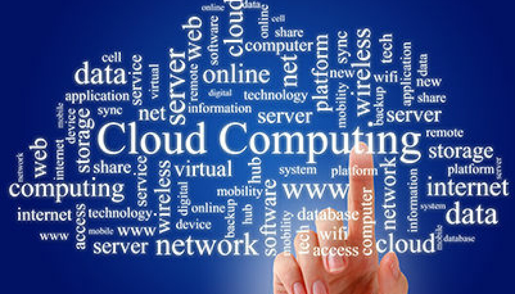 Cloud computing is hazy and opaque with regards to safety. (Photo: Colourbox)