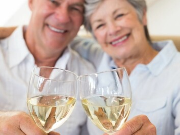 Good food and drink are often presented as the recipe for the good life. But for many elderly it can be too much of a good thing. (Photo: Wavebreak/Scanpix)