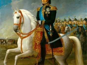 Karl Johan became Norway's king in the autumn of 1814. (Painting by Fredric Westin)