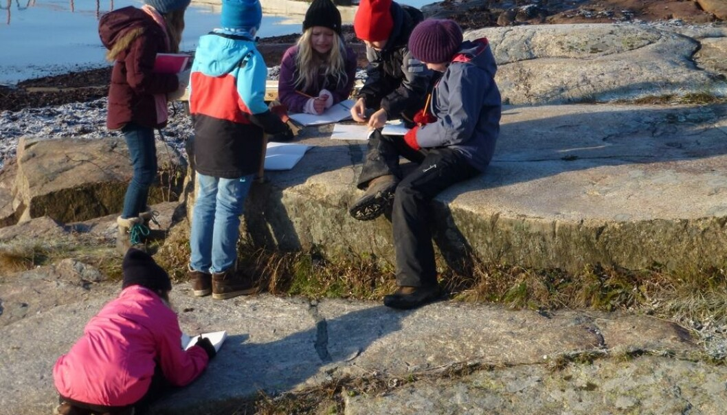 Learning geology is easier when ordinary concepts are applied. (Photo: Annette Tingstad)