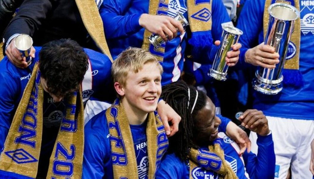 The soccer team Molde FK won the Norwegian Football Cup last year and took gold in the league championships the two preceding years. The Molde region can also cheer for the economic consequences, according to a recent study. (Photo: Vegard Grøtt, NTB scanpix)