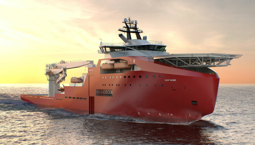 Many vessels utilise solutions that were not even invented until construction commenced. (Illustration: Vard)