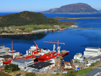 "The shipyard at Søviknes in Haram Norway has good experiences with ""Lean Project Planning"". (Photo: Vard)"