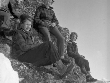 In agricultural/peasant society, adolescents were supposed to head into the mountains to witness the sunrise on Easter Sunday. They were told that they could witness the Sun jump for joy in celebration of the Resurrection. (Photo: Fritjof Arentz/Norsk folkemuseum)