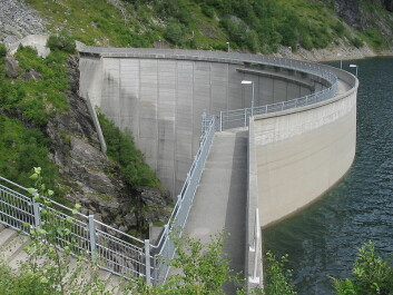 Zakariasdammen, hydroelectric power dam in Norway. (Photo: Vidariv/Wikipedia)