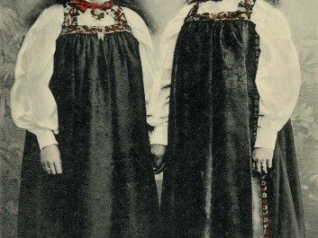 Costumes from Hallingdal, in their traditional form. (Photo: Norwegian Folk Museum)