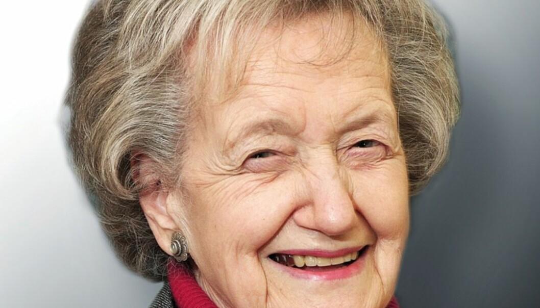 Kavli Prize-winner Brenda Milner (Photo: The Kavli Foundation)