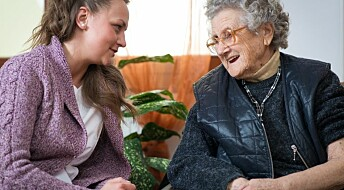 Elderly treated by 17 different aides on average per 28 days