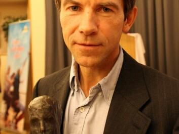 Dag O. Hessen, after winning a Norwegian award for academic freedom and information, Akademikerprisen, in 2010. (Photo: Wikimedia Commons)