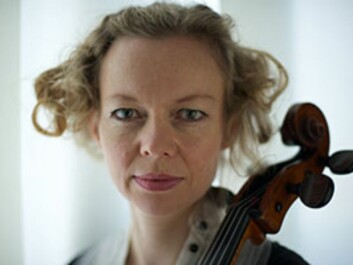 """""""Musicology has more in common with theatre studies than with literary studies, but music as performance is a discipline that is at the starting blocks,"""" says Tanja Orning, cellist and substitute associate professor."""