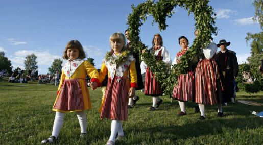 Swedes and Danes dominate Scandinavian Midsummer Eve