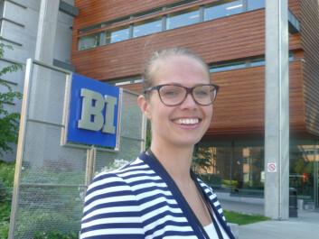 Researcher Ide Katrine Birkeland. (Photo: Audun Farbrot)