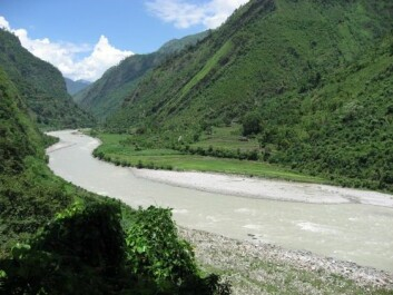 The Seti River in Western Nepal. Site of the planned West Seti Hydropower Project. (Photo: International Rivers, flickr)