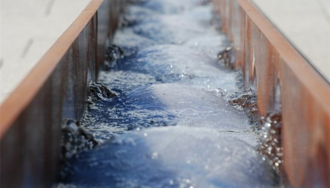 Instead of repairing old sewage mains underground to tackle precipitation, what about channelling water into open canals? (Photo: Bjørbekk & Lindheim)
