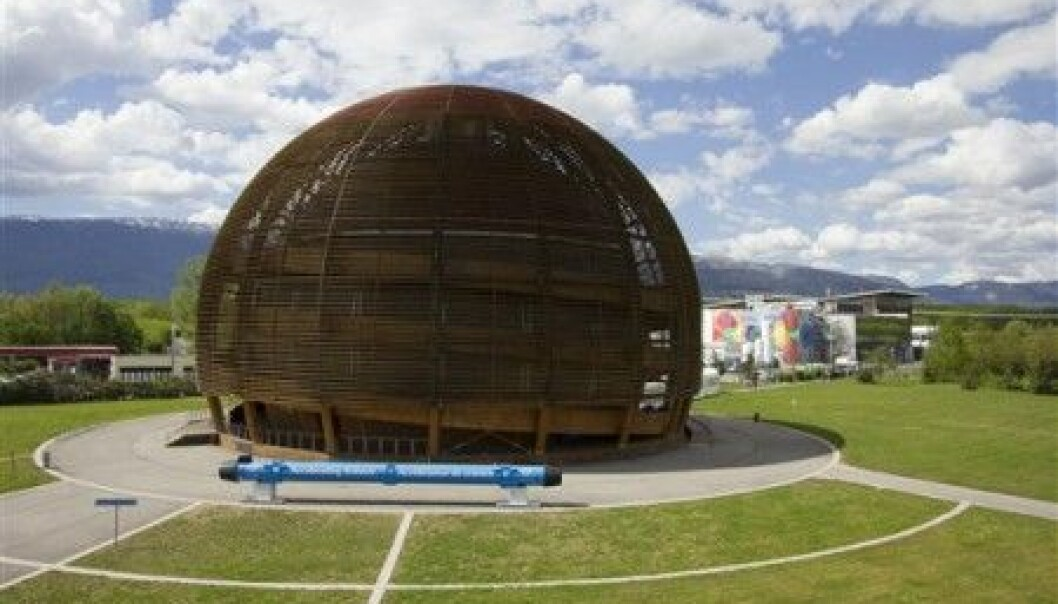 There are very few women working at CERN. (Photo: CERN)