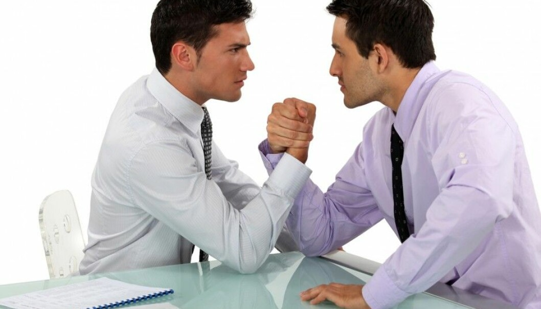 The study shows that opposites – a tough, individualistic negotiator versus a soft, cooperative negotiator – engage more in problem-solving than like-minded negotiators do, whether they are motived for their own gain or for cooperation. (Photo: Microstock)