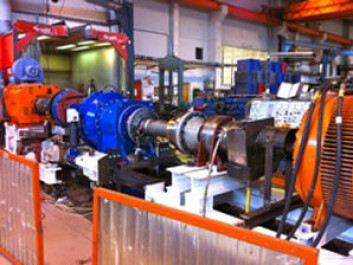 Angle Wind tests a prototype of its eccentric gear configuration. (Photo: AWG)
