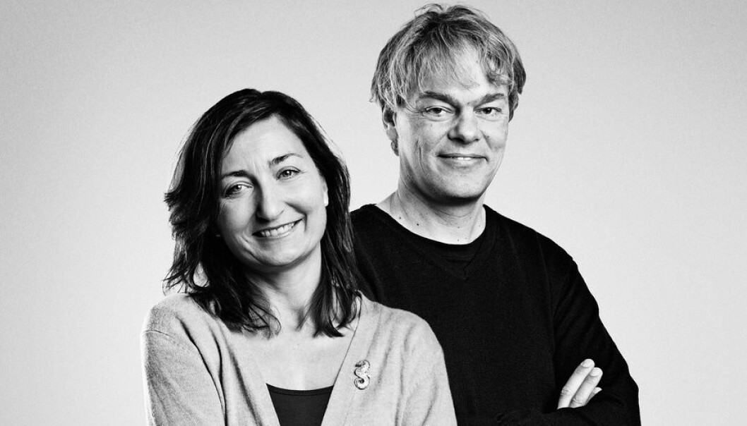 May-Britt and Edvard Moser have won the 2014 Nobel Prize in Physiology or Medicine -- but their groundbreaking research extends over nearly two decades. (Photo: Geir Mogen/NTNU)