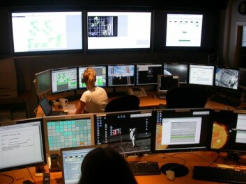 The CIRiS control room at NTNU (Photo: CIRIS/NTNU)