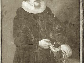 Steen Mogensøn Blix was the vicar of Dolstad Church in Mosjøen, Nordland County, in the mid-1600s. (Photo: Trøndelag Folkemuseum / DigitalMuseum)