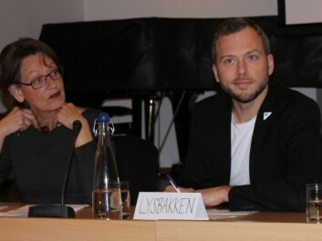 Audun Lysbakken, at right, heads the Socialist Left (SV), the only party in the the Storting that defines itself as feminist. In Sweden the parties in the Riksdagen are eager to call themselves feministic. (Photo: Siw Ellen Jakobsen)