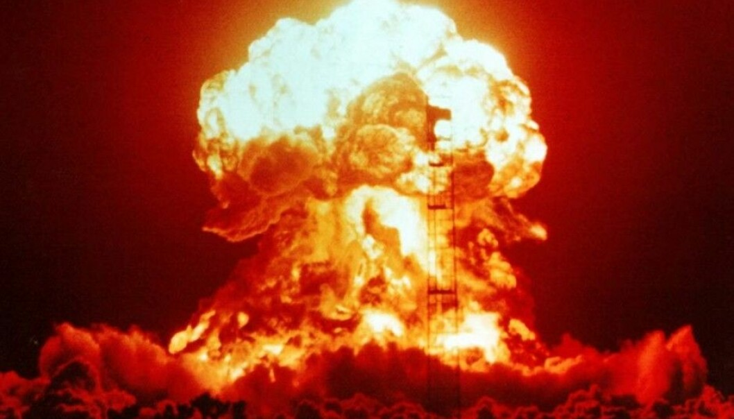 An American nuclear explosion at the Nevada Test Site in 1953, with a yield equivalent of 23 kilotons of TNT. The horrific bomb dropped on Hiroshima was a little smaller, at 16 kilotons. (Photo: National Nuclear Security Administration)