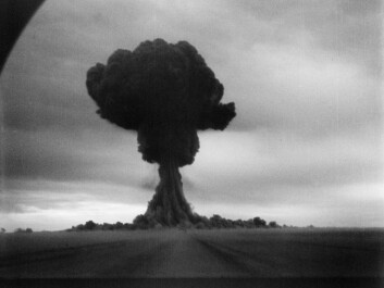The Soviet Union's first atom bomb test in Semipalatinsk in 1949. (Photo: Public Domain)