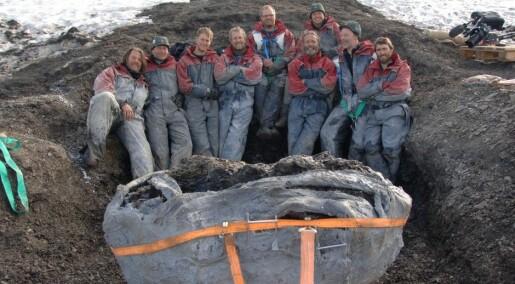 Sea monsters on Svalbard in music video