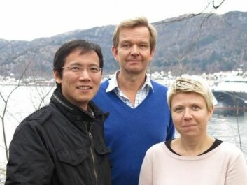 SISQUONOR project leaders, from the left: Junyong You (CMR), Øivind Strand (IMR) and Aline Gangnery (IFREMER).  (Photo: Marie Hauge)