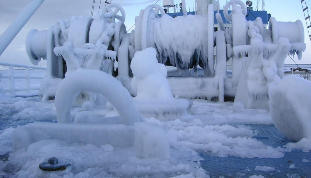 In the arctic, steel constructions must be able to withstand temperatures as low as minus 60 degrees. But our current materials are not tough enough. (Photo: Ragnhild Lundmark Daae)
